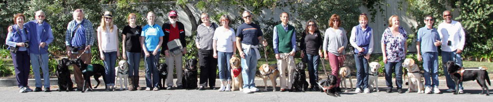Photo of L A SouthWest meeting with L A PAWS in Manhattan Beach