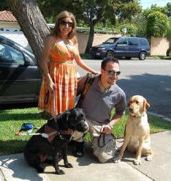 Melissa With Anya, David With Greta