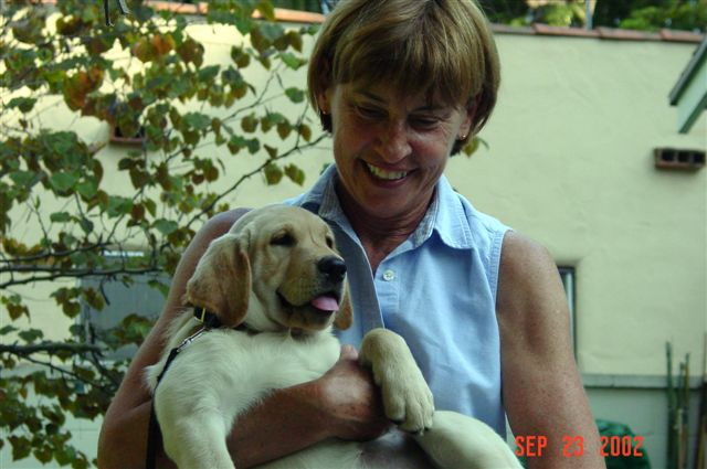 Joan With Pastora At 10 Weeks