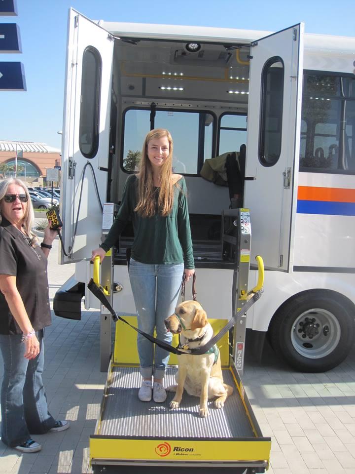 Katherine with Moira OC Transit