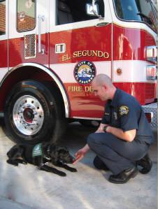 Landers At El Segundo Fire Station