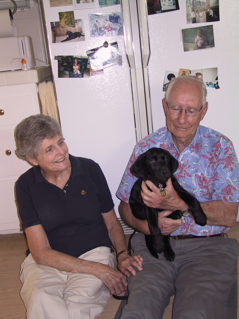 Patt And Bill With Hark