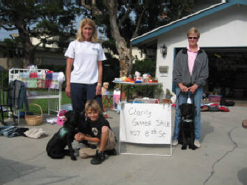 Charity Garage Sale 11/17/2007
