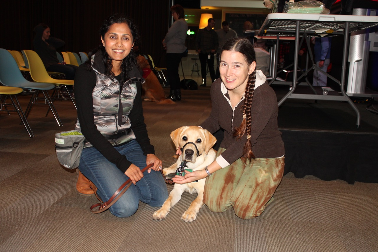 Daya with Dover at Google