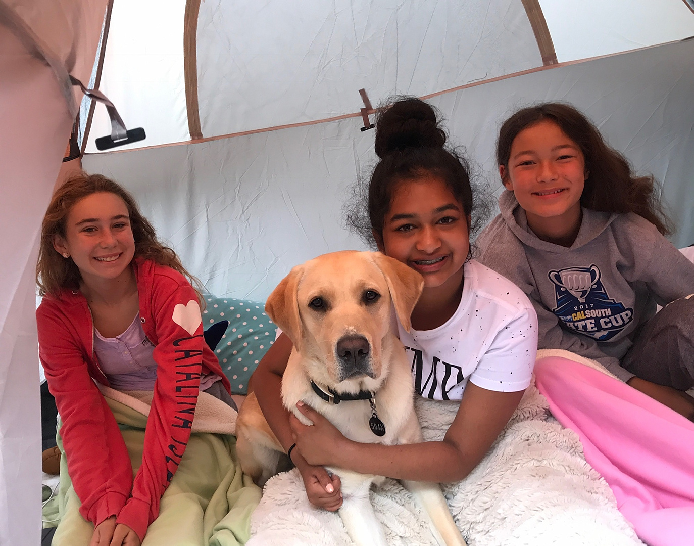 Avanthi with Dover Camping