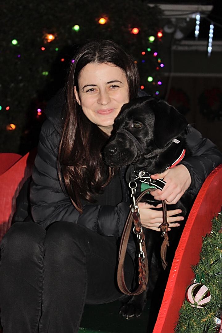 Stephanie with Belfast