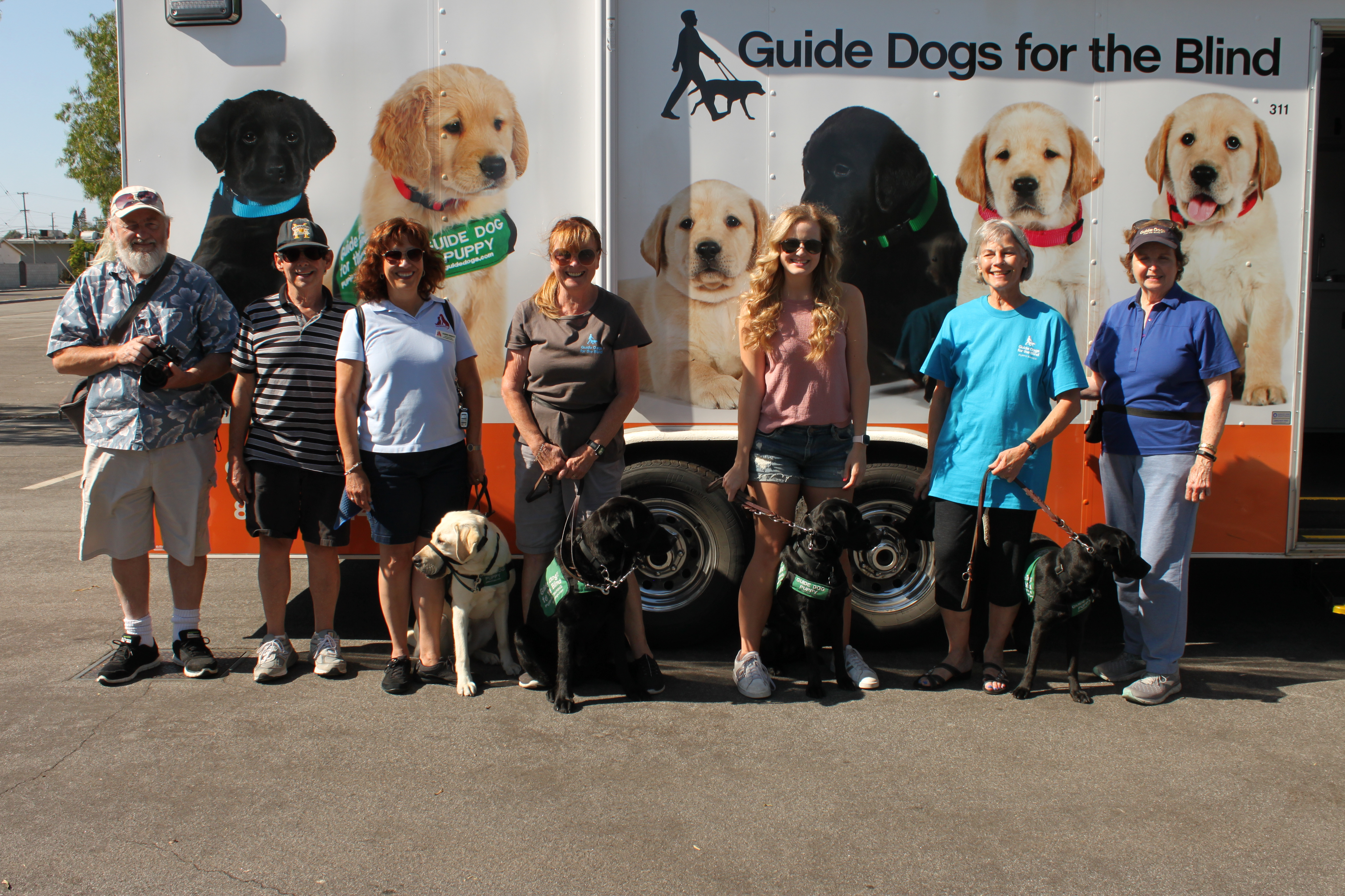 At the Puppy Truck