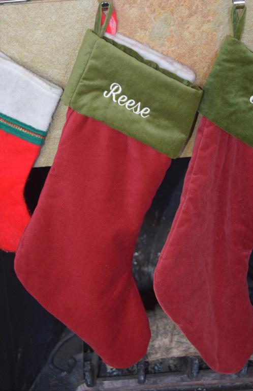Rreese's Xmas 2016 Stocking In Her Breeder Home