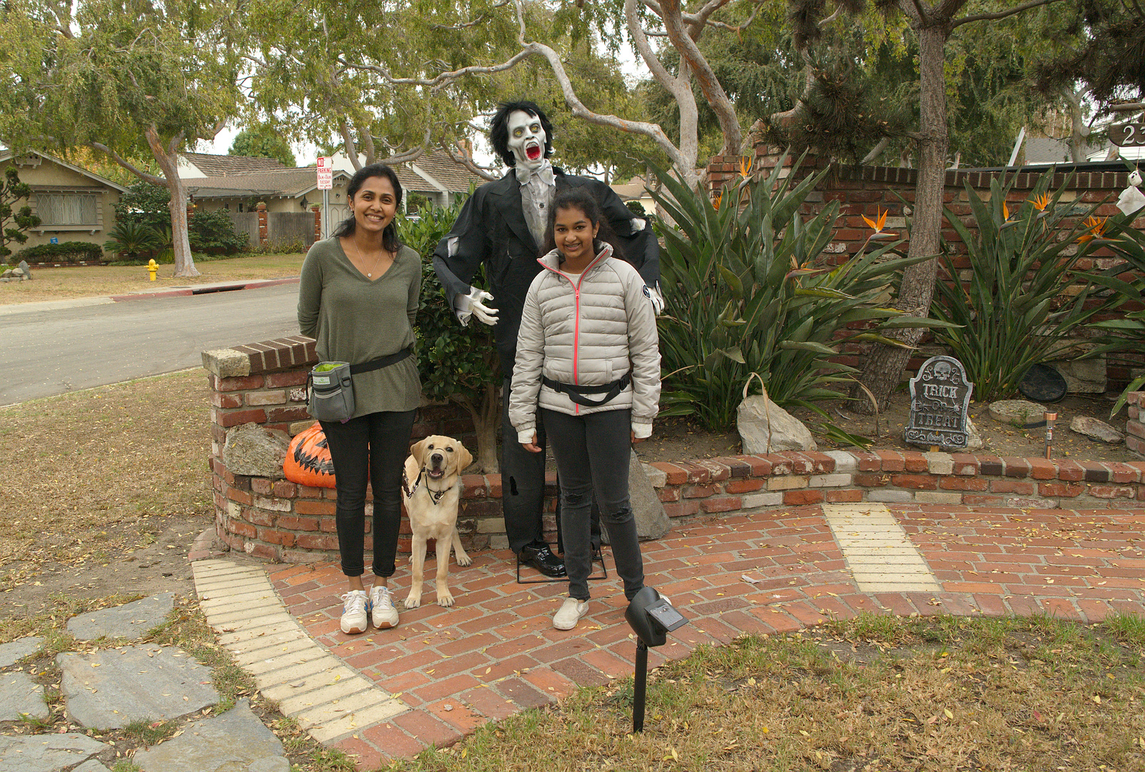 Daya and Avanthi with Dover