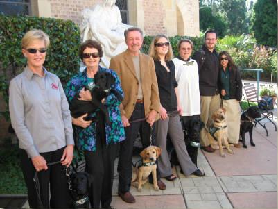 Pat and gang at St Albans Church