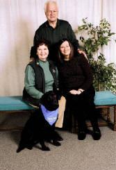 Pat with Elsa at graduation