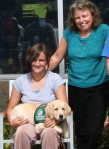 Riley And Pam With Mollie