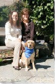 Janice with Courtney and Breeder Keeper