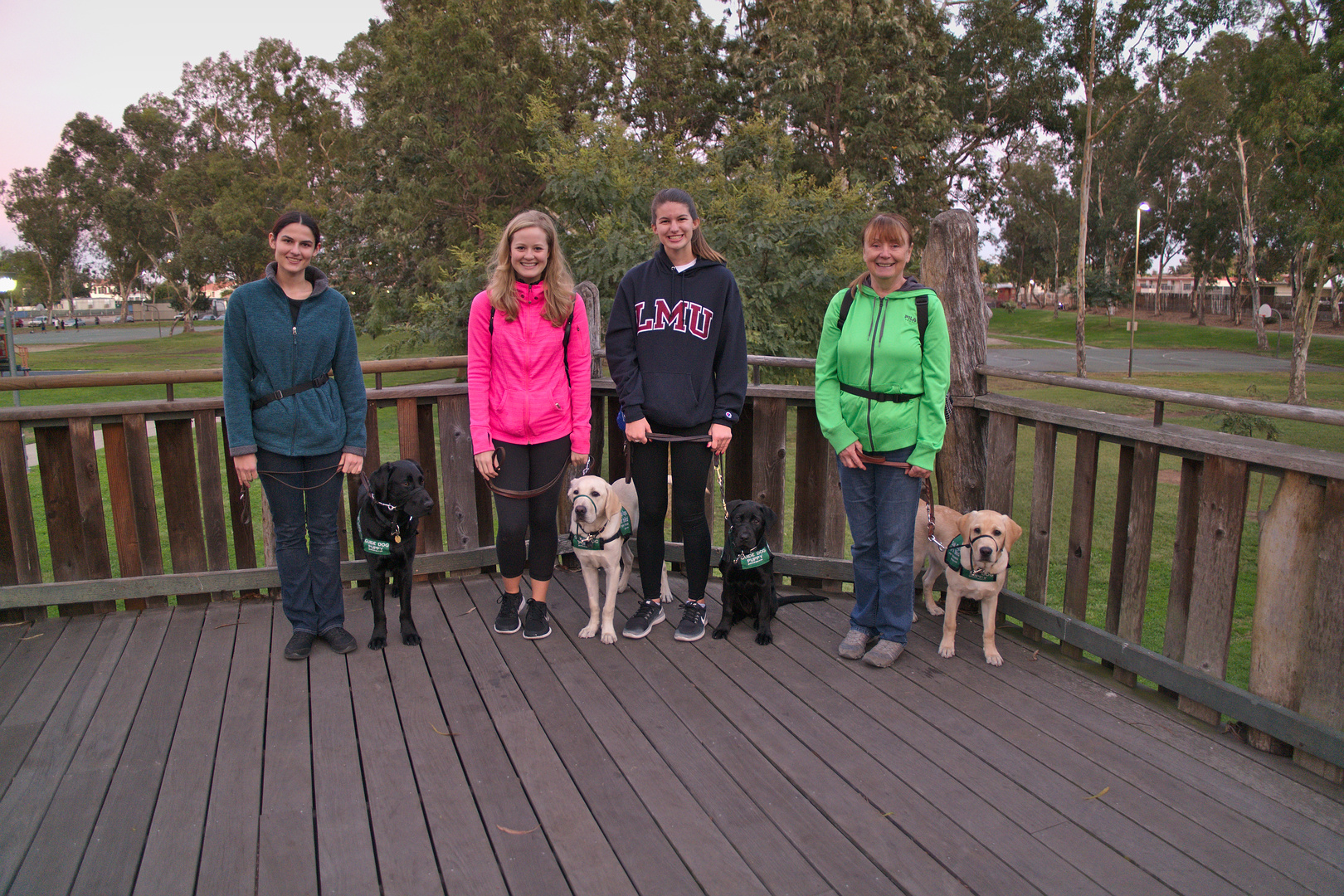 LASW Training in the park