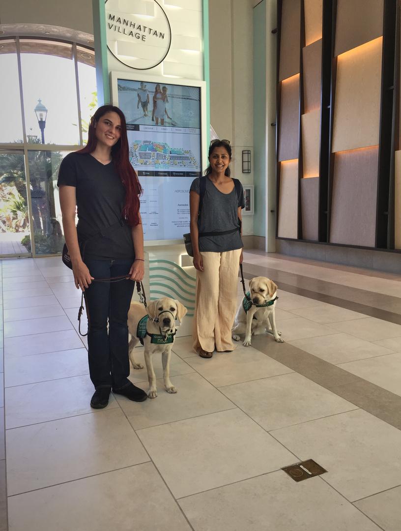 Elizabeth with Milo, Daya with Velma