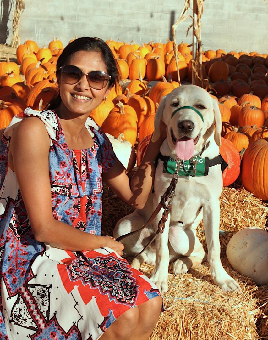 Daya with Milo