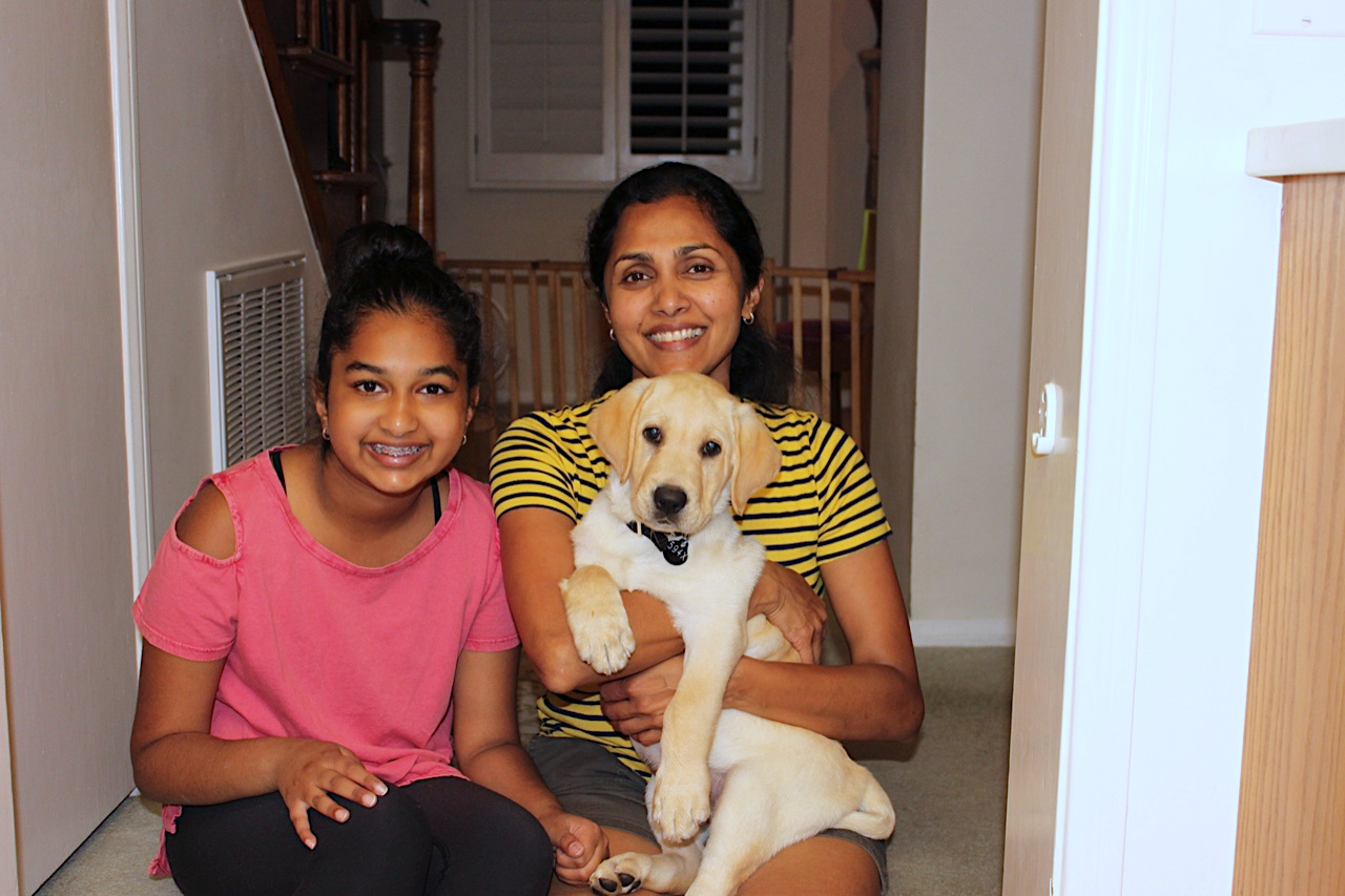 Avanthi and Daya with Dover