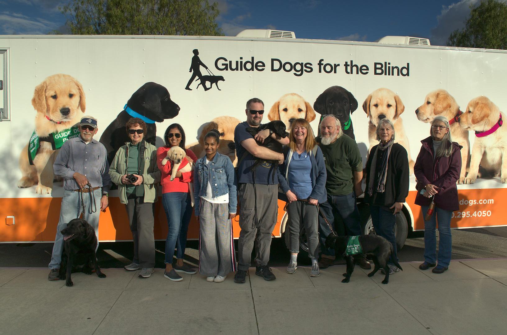 Puppy Truck Group - new pups Kazuki and Macklin