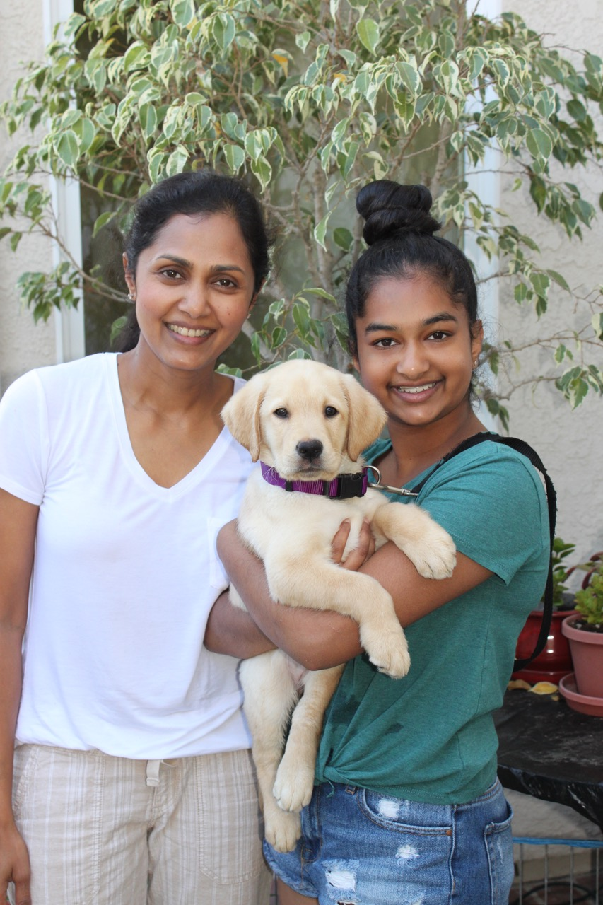 Avanthi and Daya with Mesa